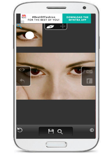 andorid app to remove red eye- eye color changer