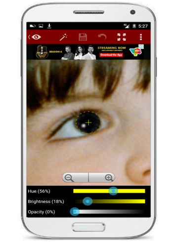 andorid app to remove red eye- red eye removal
