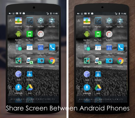 android apps to share screen