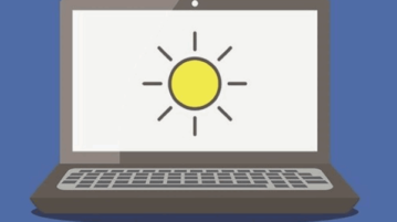 free f.lux alternative- automatically change screen brightness by time