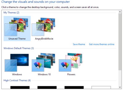 automatically change windows 10 theme at scheduled time