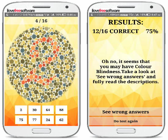 5 Eye Test Apps For Android To Check Color Blindness