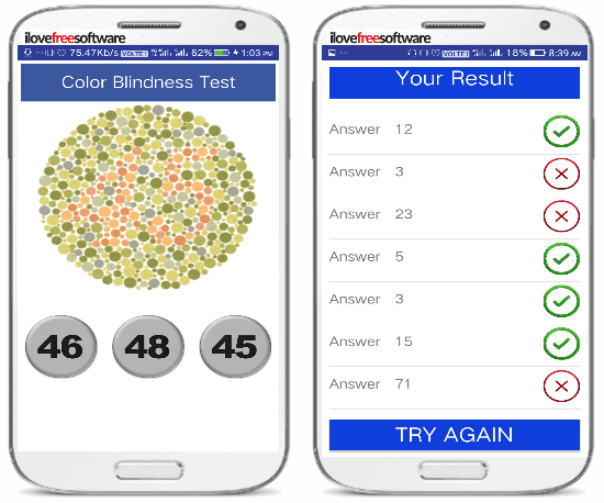 color blindness test by oxyapps-check color blindness