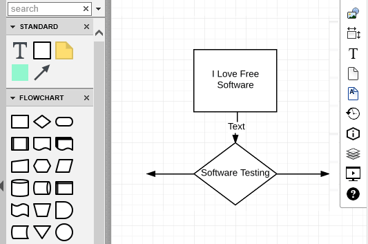 create flowcharts and uml diagrams