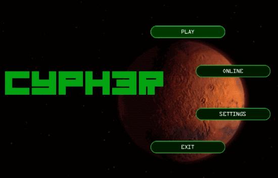 Cypher Main Screen