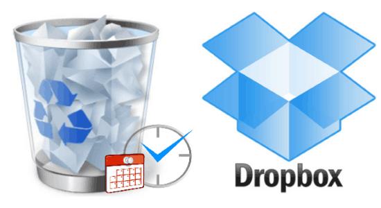 automatically delete Dropbox files