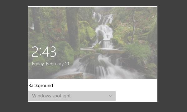 How To Disable Lock Screen Wallpaper Change In Windows 10