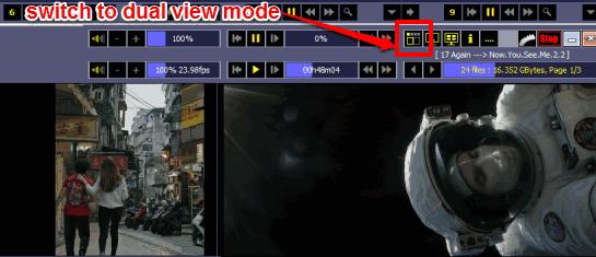 dual view mode