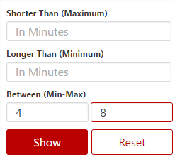 filter youtube videos by length