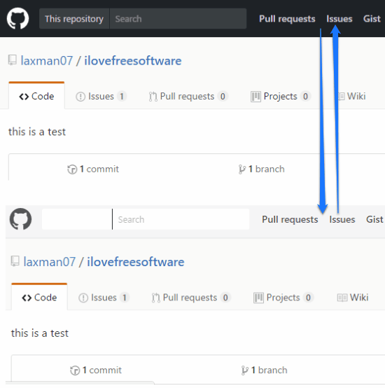 how to change the new github interface to the old one