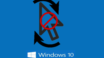 how to disable mouse cursor change in windows 10