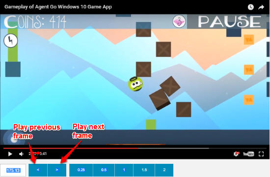 how to play youtube video frame by frame-rowvid