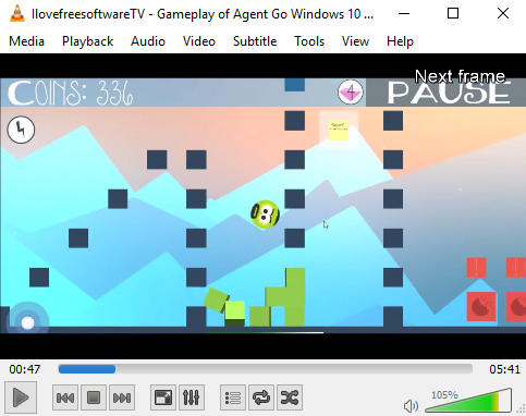how to play youtube video frame by frame- vlc media player