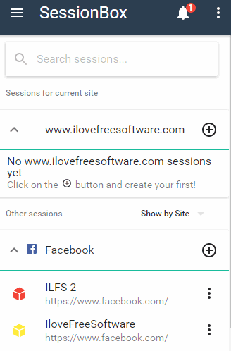 login into multiple accounts of websites in chrome