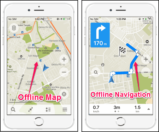 5 Best Free Offline Map Apps For iPhone