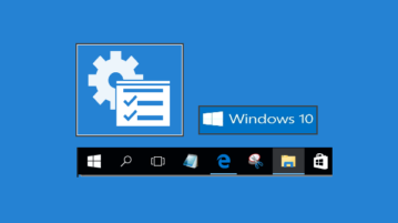 pin administrative tools to windows 10 taskbar