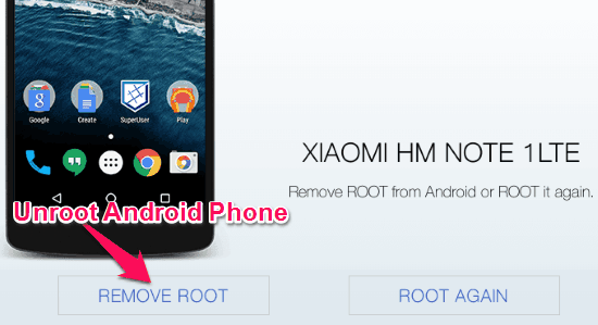 3 Free Software to Unroot Android Phone
