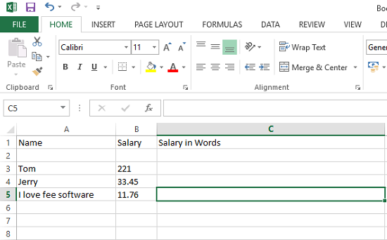 spell curr open excel