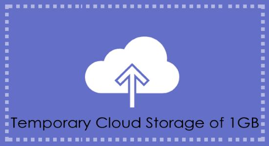 temporary cloud storage