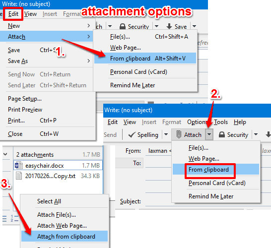 use attachment options