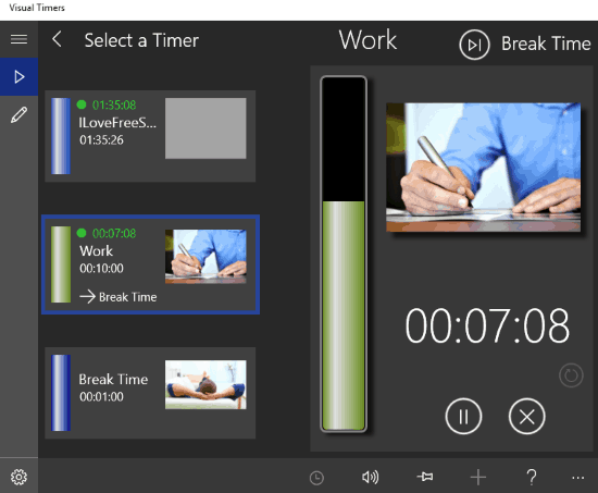 windows 10 multi timer apps-visual timers
