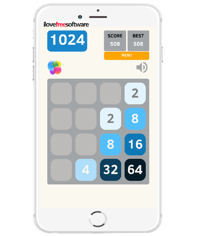 5 free iphone number puzzle games similar to 2048 Android game- 1024