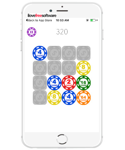 5 free iphone number puzzle games similar to 2048 Android game- 2048 casino chips