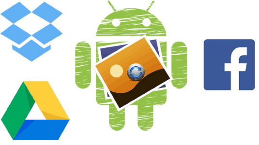 3 free android gallery apps to view photos from Google Drive, Dropbox