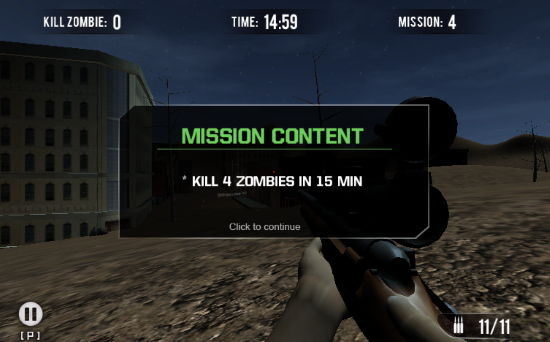 5 free 3d facebook games to play- Zombie Dayz Multiplayer