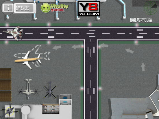 5 free 3d facebook games to play- plane parking 3D