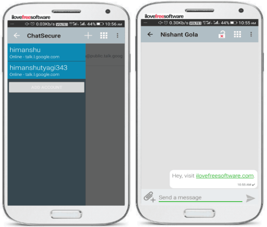 5 free open source messengers for Android to chat securely- chatsecure