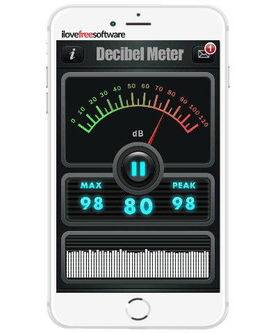 iphone decibel meter 5 free noise meter iphone apps to measure level of noise 11790