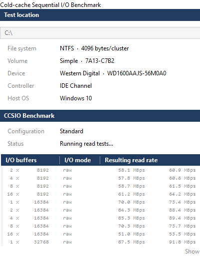 Freeware To Monitor Disk Read and Write Speed In Real-Time