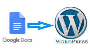 How To Post From Google Docs To WordPress