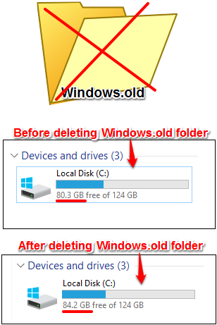 How to Delete Windows.old Folder From Any PC