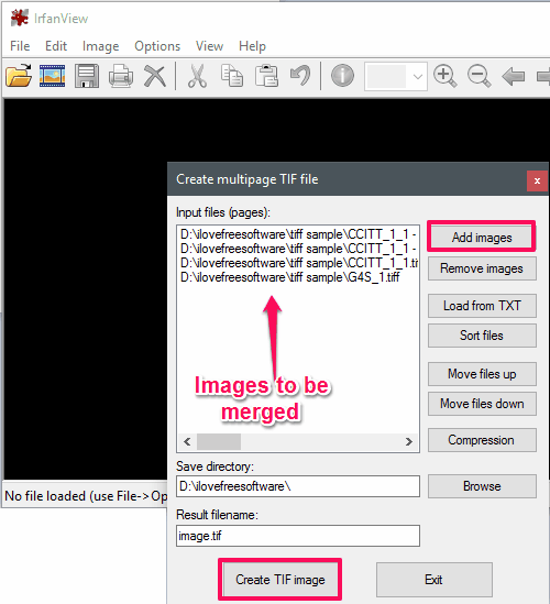 5 Free Multipage TIFF Creator To create Multipage TIF Images