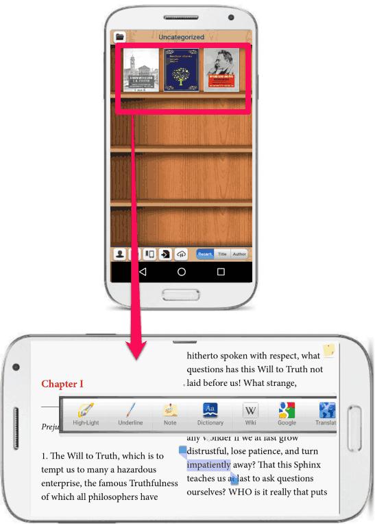 NeoSoar eBooks PDF&ePub in action