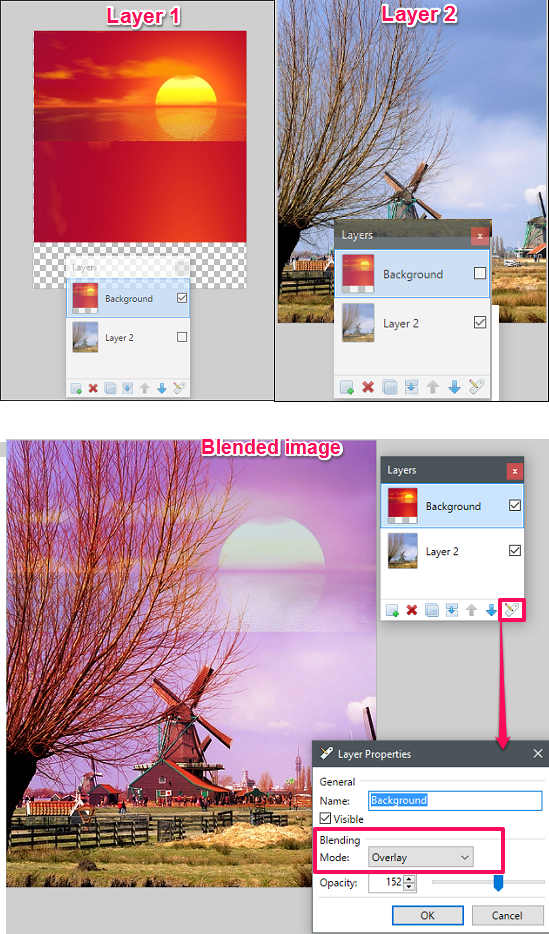 Paint.net in action