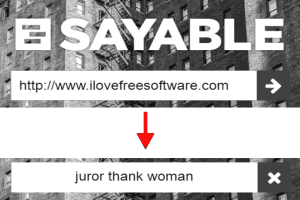 Sayable