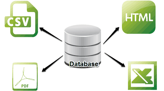 Software To Edit And Convert Database Files To CSV, DB, PDF