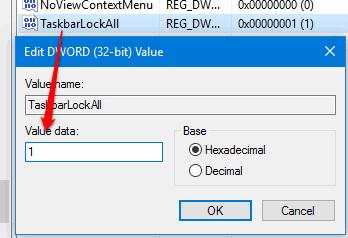 add 1 in value data field