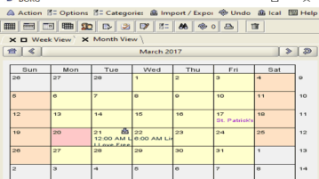 free windows desktop calendar to keep track of tasks
