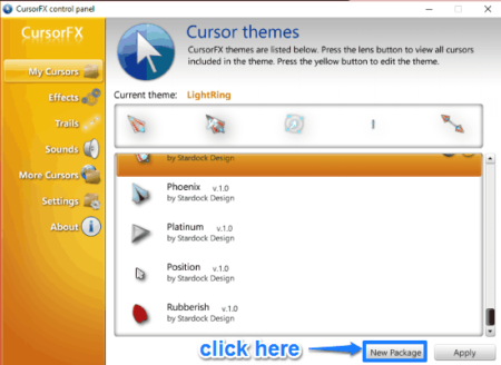 how to get ubuntu like mouse cursors icons in windows 10