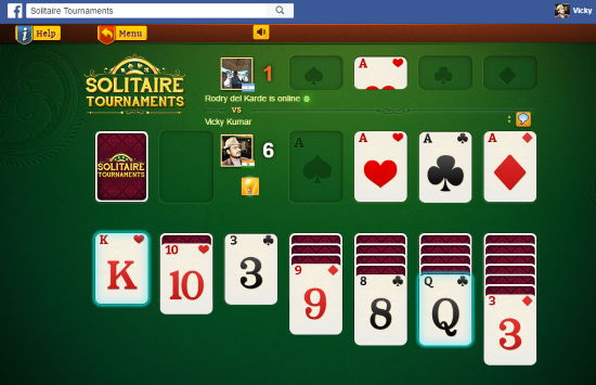 Solitaire Tournament Facebook