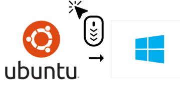 how to get ubuntu like mouse cursor theme in windows