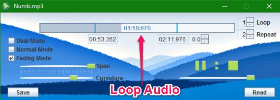 loop audio player