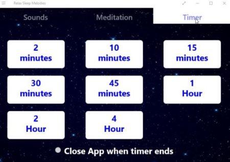 Windows 10 Sleep Sounds App to Meditate, Sleep, Relax with