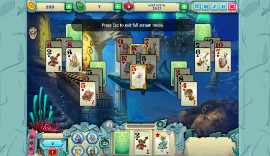 Free Solitaire Atlantis Facebook