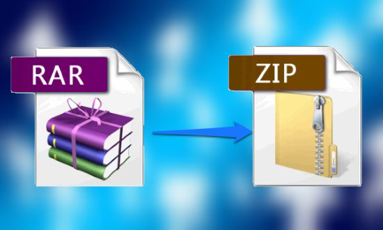 5 Free Websites To Convert RAR to ZIP