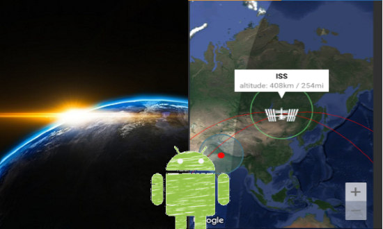 Free Android App To Track International Space Station And Iridium Flarespng
